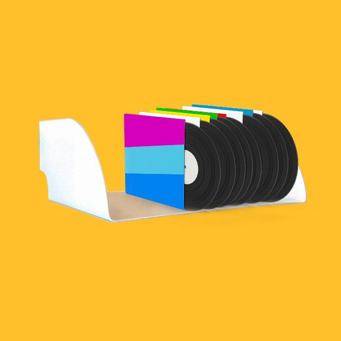 מדף לתקליטים - תקליטים מדפים לאחסון תקליטים במגוון צבעים