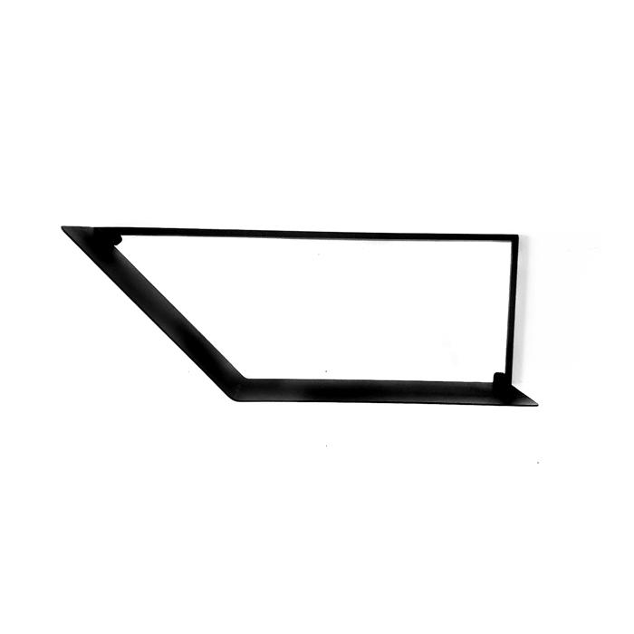 מדף נורדי ממתכת - מדפי מתכת מעוצבים בסגנון נורדי