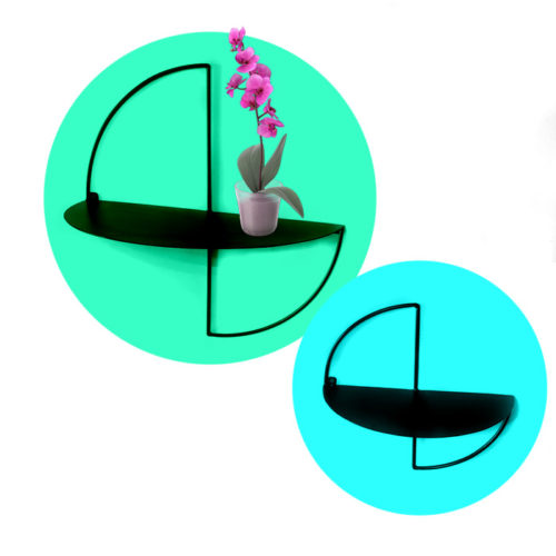 מדפים מעוגלים - מדפי מתכת מדפי ברזל מעוצבים - מדפים מעוצבים