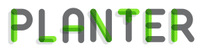 פלנטר Planter – מעמדים לעציצים ומדפים מעוצבים לוגו
