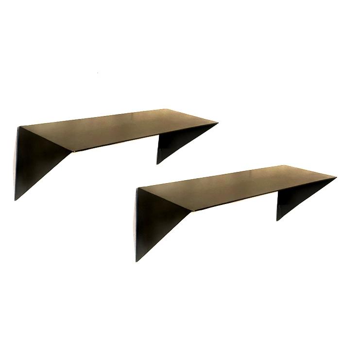 מדף מתכת מעוצב אוריגמי