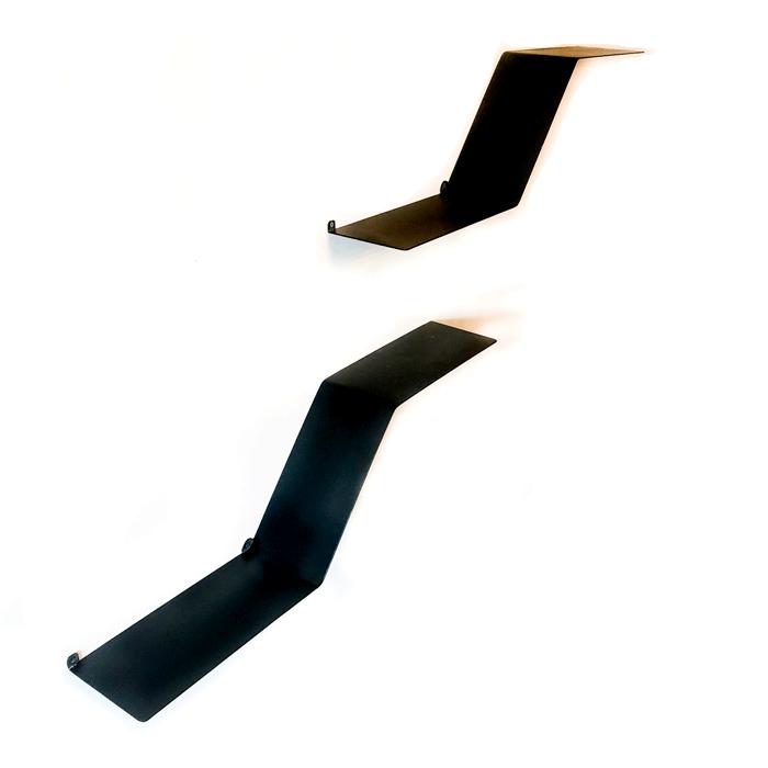 מדפים מעוצבים ממתכת - מדפים צפים מודולריים