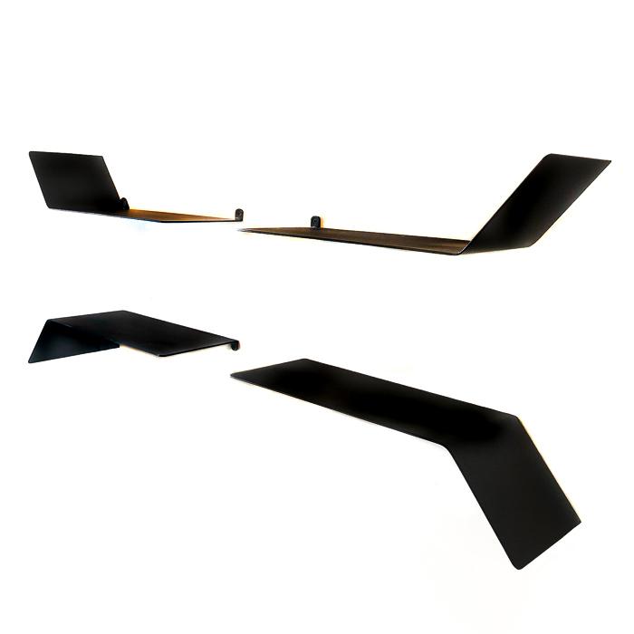 מדף כנף דו כיווני - מדפים מעוצבים ממתכת
