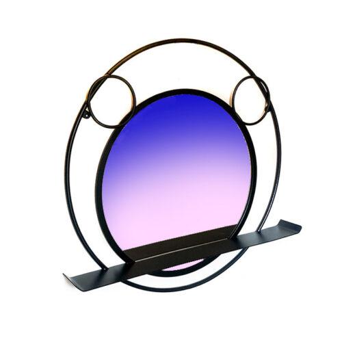 מראה עגולה מיקי מאוס - מראה עם מדף