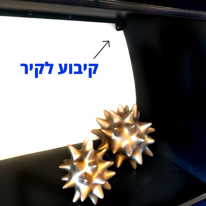 כוננית מדפים מקובעת לקיר - קיבוע לקיר קונסולה לכניסה