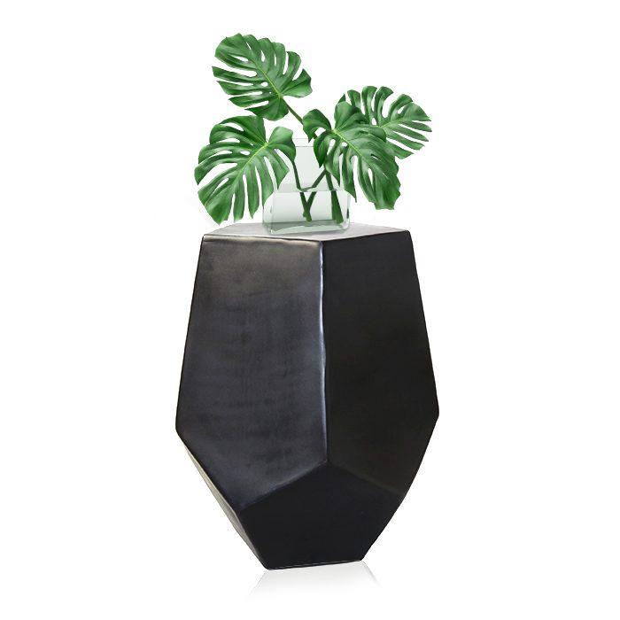 """שולחן קפה / מעמד לעציצים ממתכת - 85-60 ס""""מ ברזל בנפחים"""